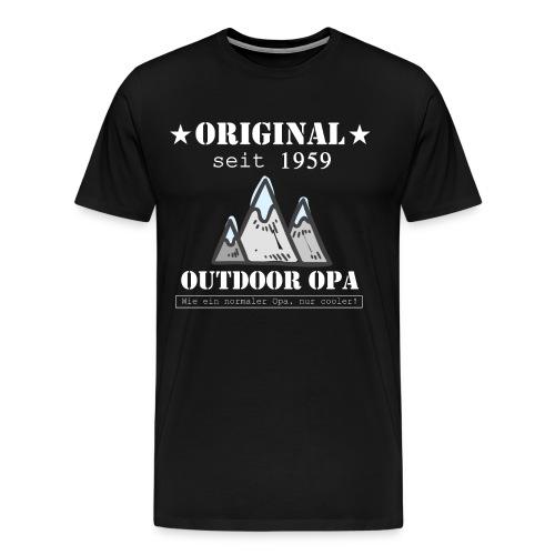 OUTDOOR OPA 1959 - Männer Premium T-Shirt