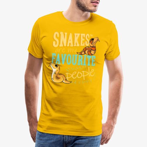 Snakes Favourite - Miesten premium t-paita