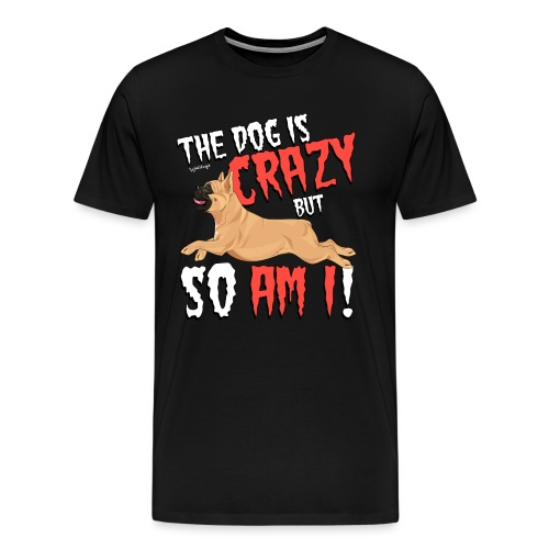 French Bulldog Crazy 6 - Men's Premium T-Shirt