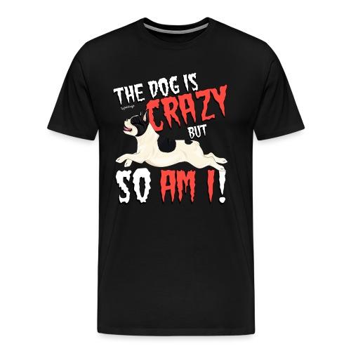 French Bulldog Crazy 3 - Men's Premium T-Shirt