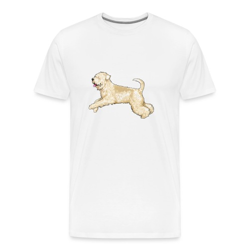 Wheaten Terrier Diamonds 4 - Men's Premium T-Shirt