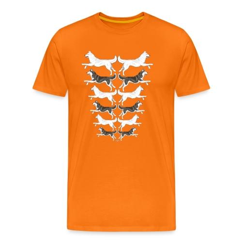 huskyrows - Men's Premium T-Shirt