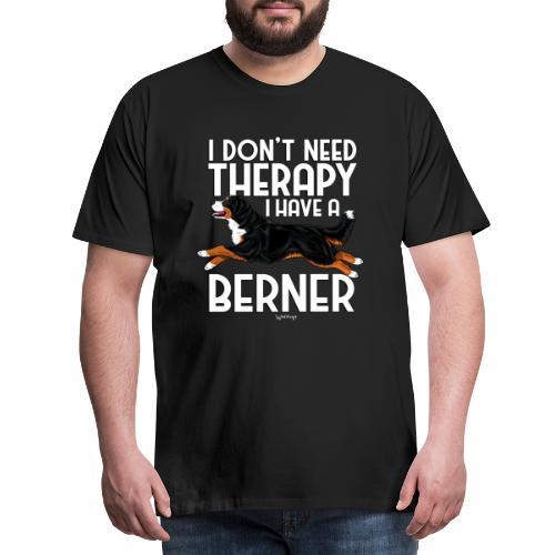 Bernese Berner Therapy 4 - Miesten premium t-paita