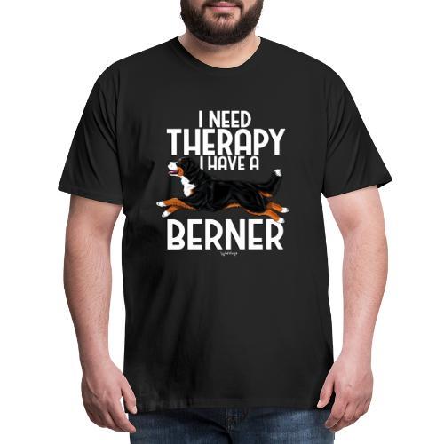Bernese Berner Therapy 2 - Miesten premium t-paita