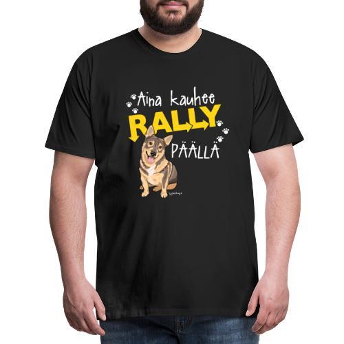 Vallhund Göötti Rally - Miesten premium t-paita