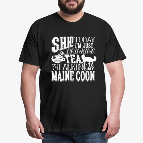 SHH Maine Coon Tea3 - Miesten premium t-paita