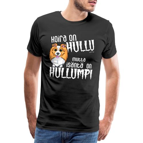 Sheltti Hullumpi - Miesten premium t-paita