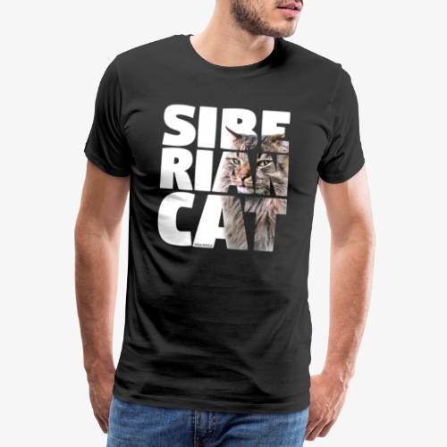 nassusiberiancat2 - Miesten premium t-paita