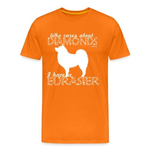 Eurasier Diamonds - Men's Premium T-Shirt