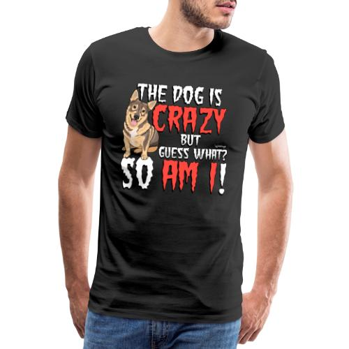 Vallhund Göötti Crazy2 - Miesten premium t-paita