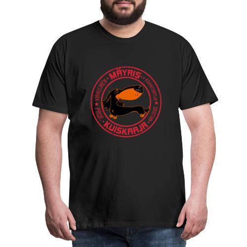 Mäyriskuiskaaja V - Miesten premium t-paita