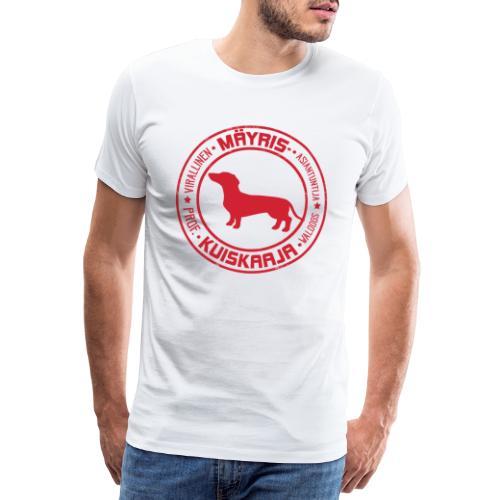 Mäyriskuiskaaja RED II - Miesten premium t-paita