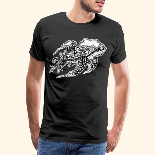 Sea Turtle Meeresschildkröte Skilpadde Skildpadde - Männer Premium T-Shirt