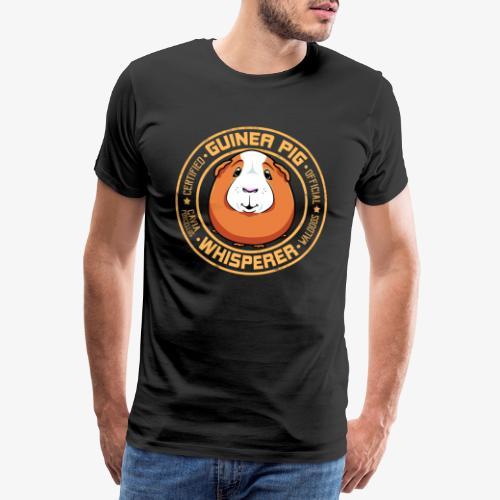 Guinea Pig Whisperer IV - Miesten premium t-paita
