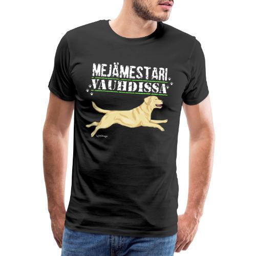 Labradori Mejämestari - Miesten premium t-paita