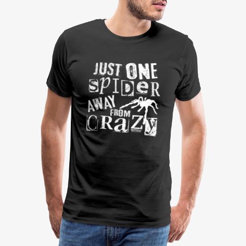 One Spider Away II - Miesten premium t-paita