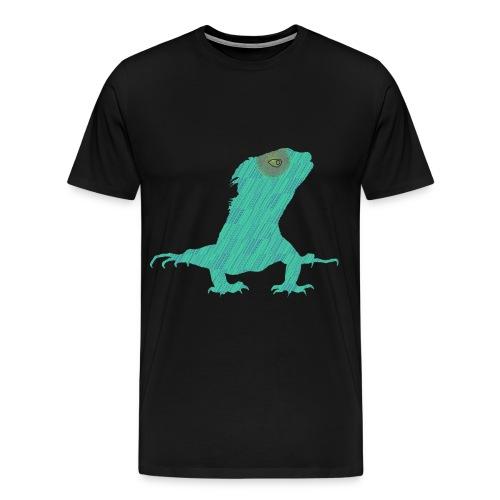 Türkis - Leguan - Männer Premium T-Shirt