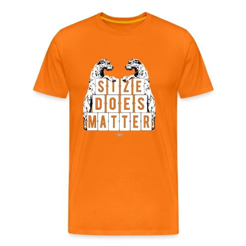 Size Does Matter Irish Wolfhound - Men's Premium T-Shirt