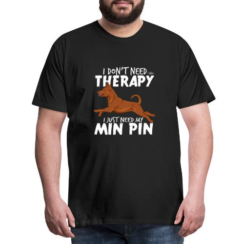 minpintherapy4 - Miesten premium t-paita
