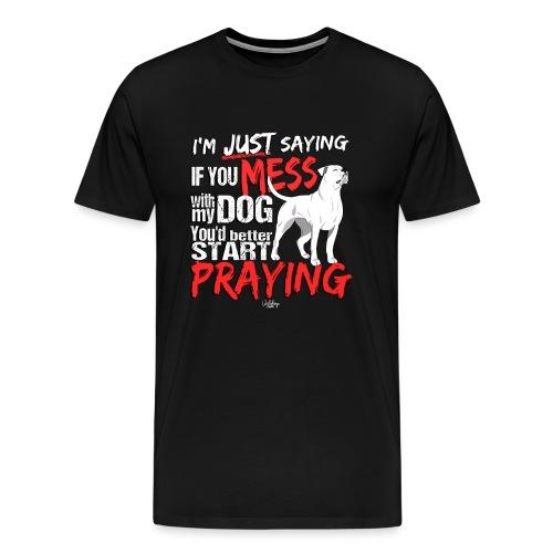 ambpraying - Men's Premium T-Shirt