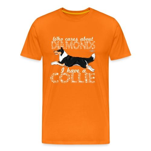 colliediamonds2 - Men's Premium T-Shirt