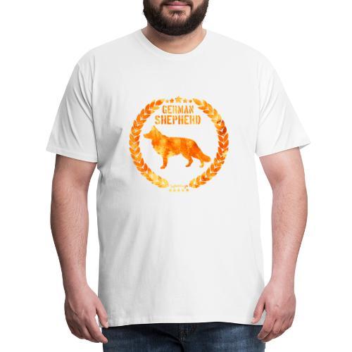 GSD Copper Army - Miesten premium t-paita