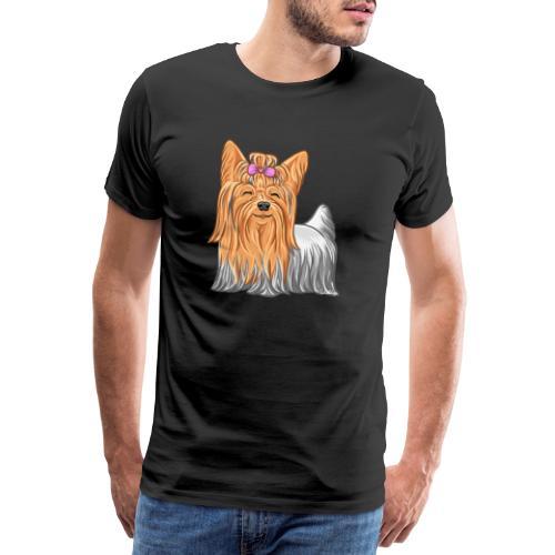 Yorkie - Miesten premium t-paita