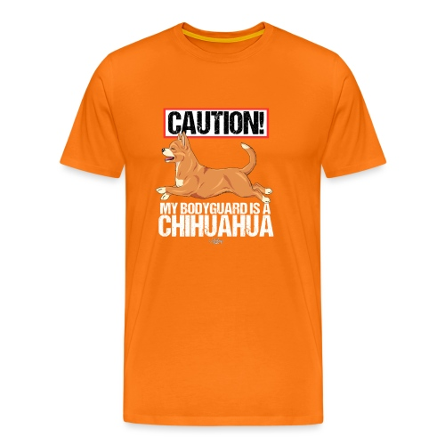 chihubodyguard5 - Men's Premium T-Shirt