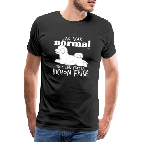 bichonnormalswe - Miesten premium t-paita