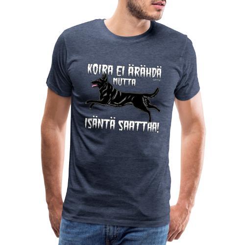Saksanpaimen Isäntä - Miesten premium t-paita