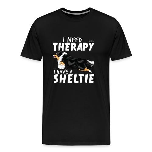 sheltietherapy2 - Men's Premium T-Shirt