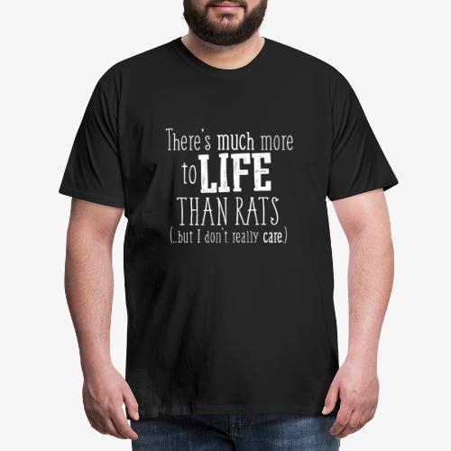 More to life Rats W - Miesten premium t-paita