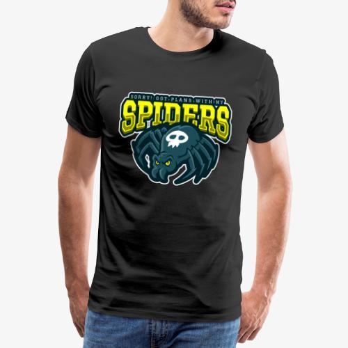 Sorry Spiderplans - Miesten premium t-paita