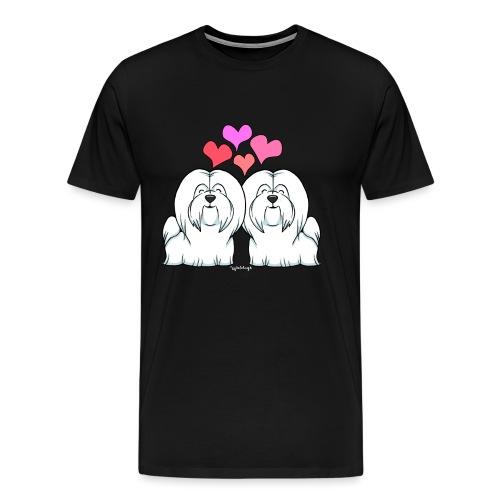 Coton De Tuléar Love - Men's Premium T-Shirt