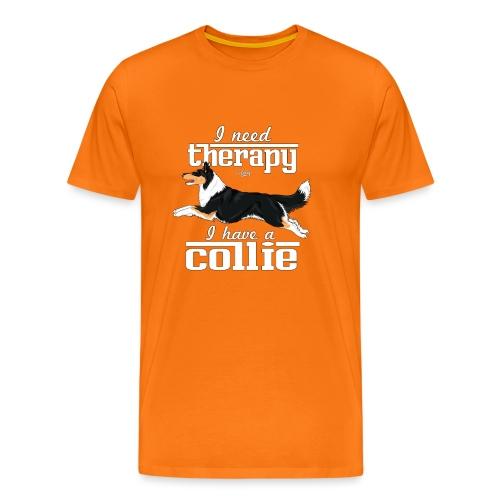 therapycollie5 - Men's Premium T-Shirt
