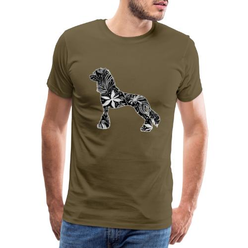 Flower Crested - Miesten premium t-paita