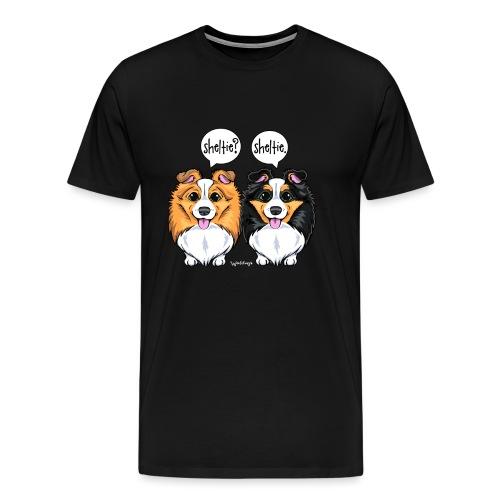 Sheltie Sheltie - Men's Premium T-Shirt