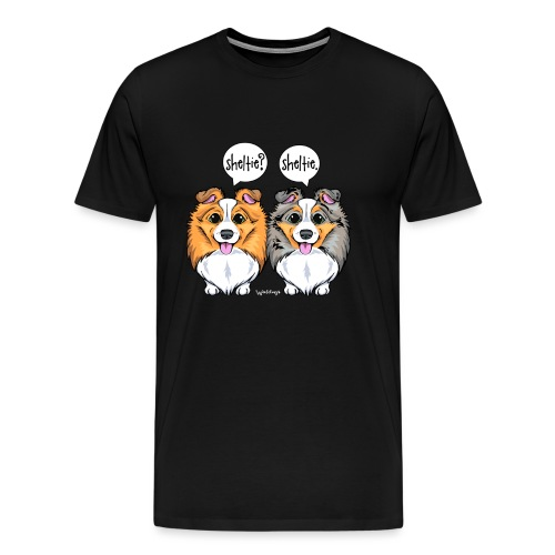 Sheltie Sheltie 3 - Men's Premium T-Shirt