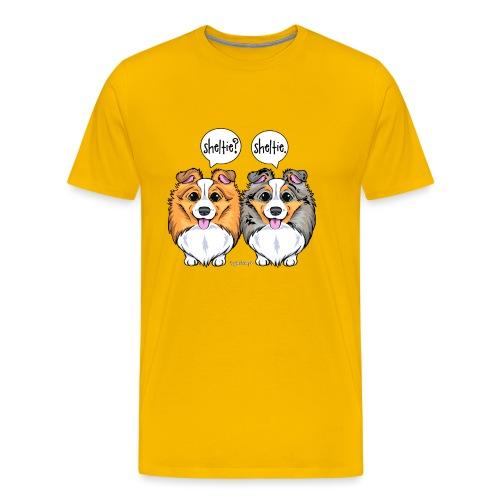 Sheltie Sheltie 3 - Men's Premium T-Shirt