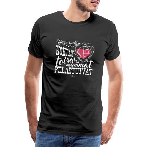 RESCUEsydamet - Miesten premium t-paita