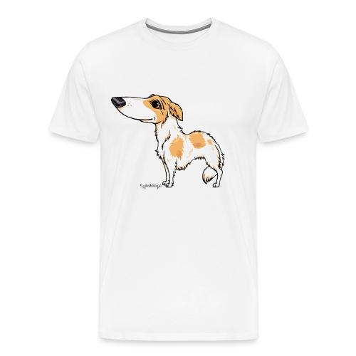 borzoi3 - Men's Premium T-Shirt