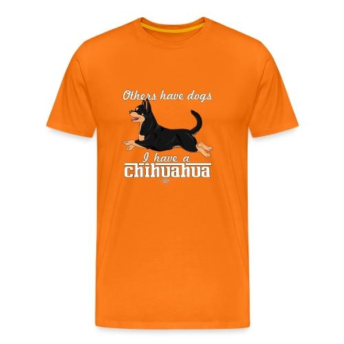 chihudogs2 - Men's Premium T-Shirt