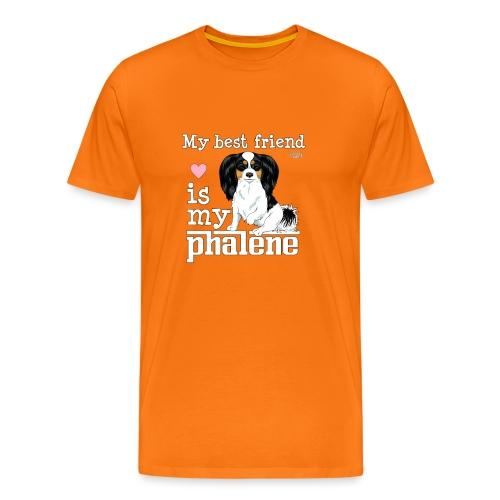 phalenebestfriend2 - Men's Premium T-Shirt