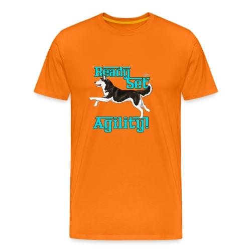 huskyreadyagi2 - Men's Premium T-Shirt