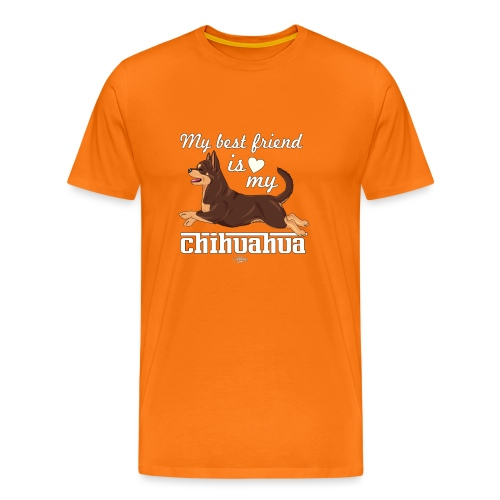 chihubestfriend4 - Men's Premium T-Shirt