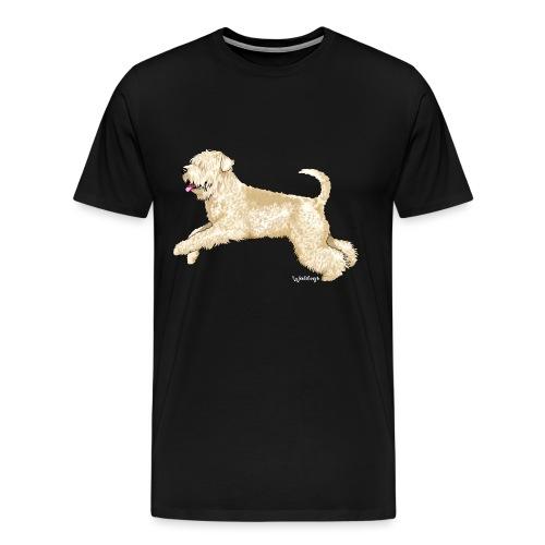 Soft Coated wheaten Terrier - Men's Premium T-Shirt