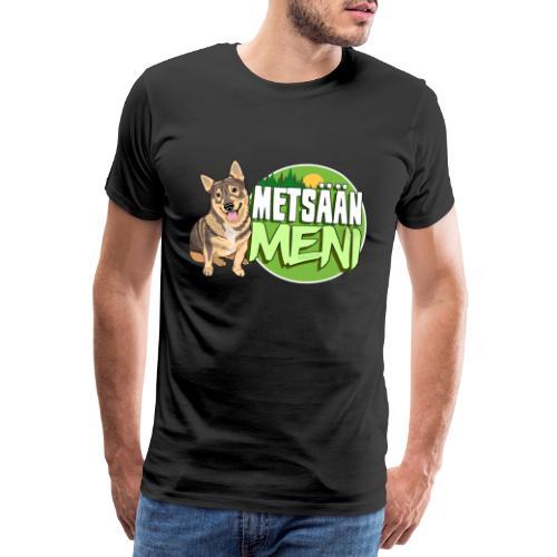 Vallhund Göötti Metsään - Miesten premium t-paita