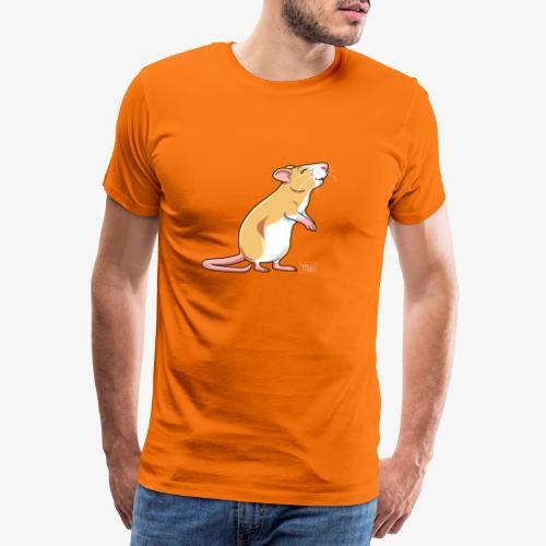 Råtta X - Miesten premium t-paita