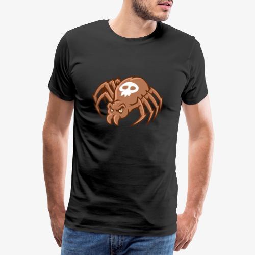 Angry Spider - Miesten premium t-paita