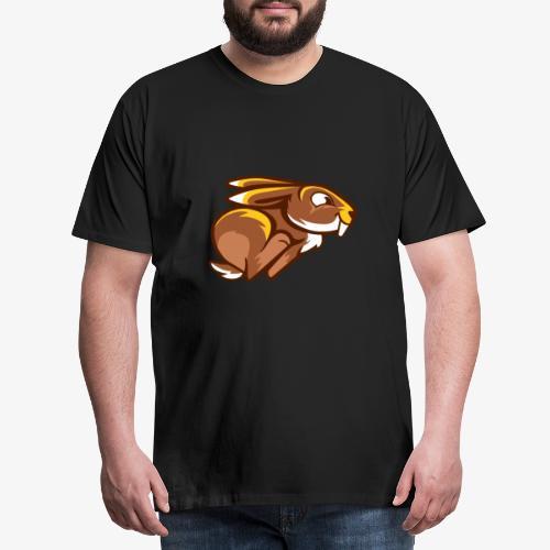Speedy Bunny II - Miesten premium t-paita